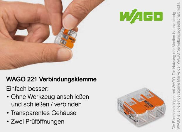 WAGO 221 Verbindungsklemmen