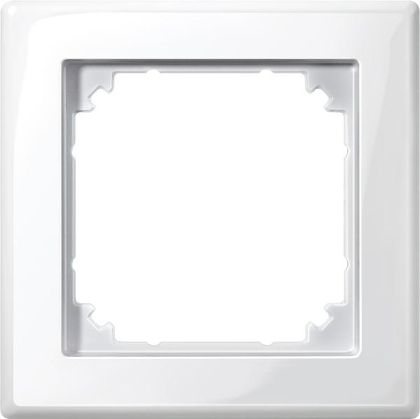 Merten System M M-Smart Polarweiß glänzend