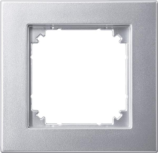 Merten System M M-Plan Aluminium edelmatt