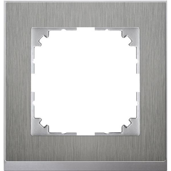 Merten System M M-Pure Decor Edelstahl / Aluminium
