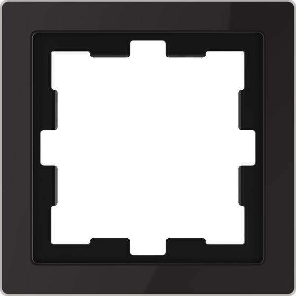 Merten System Design D-Life Glas Onyxschwarz