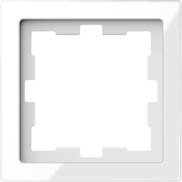 Merten System Design D-Life Glas Kristallweiß