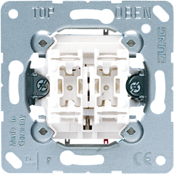 Jung 509vu Up Einsatz Jalousie Wippschalter Schalter 1 Polig Kaufen